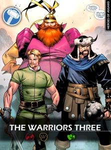 Warriors-Three